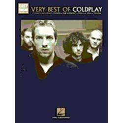 Coldplay Very Best of Easy Guitar Book