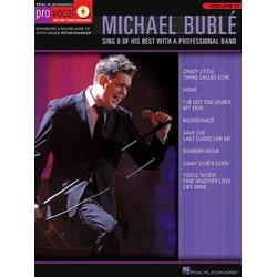 Michael Buble Pro Vocal  Male Voice BooK con CD