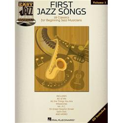 Easy Jazz Play Along Volume 1: First Jazz Songs Book con CD