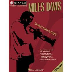 10 Miles Davis Classics Jazz Play Along Volume 2 Book con CD