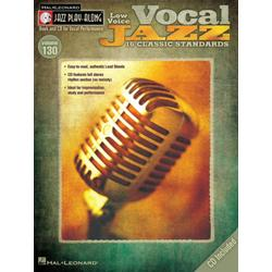 Vocal Jazz Low Voice Jazz Play Along Volume 130 Book con CD