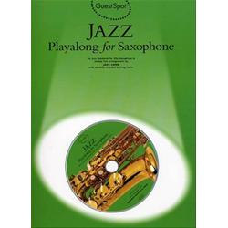 Guest Spot: Jazz Play Along for Alto Saxophone Book con CD
