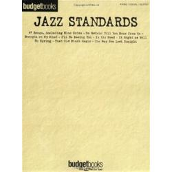 Budget Books: Jazz Standards (Piano/Voce/Chitarra)