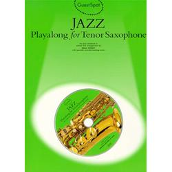 Guest Spot: Jazz Play Along for Tenor Saxophone Book con CD