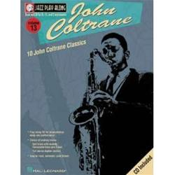 10 John Coltrane Classics Sheet Jazz Play Along Volume 13 Book con CD*