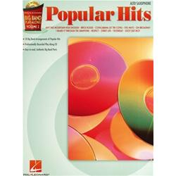 Big Band Play-Along Volume 2: Popular Hits Alto Sax con CD