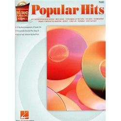 Big Band Play-Along Volume 2: Popular Hits Piano con CD