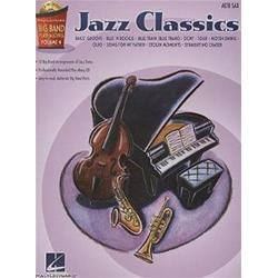Big Band Play-Along Volume 4: Jazz Classics Alto Saxophone con CD