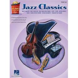 Big Band Play-Along Volume 4: Jazz Classics Tenor Saxophone con CD