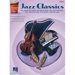 Big Band Play-Along Volume 4: Jazz Classics Trumpet con CD