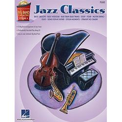 Big Band Play-Along Volume 4: Jazz Classics Piano con CD