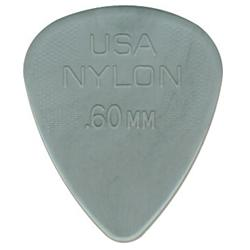 DUNLOP Plettro Nylon Standard Light Gray 0.60