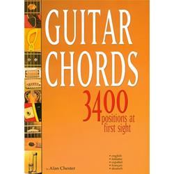 Guitar Chords - 3400 Positions At First Sight - Chester, Alan