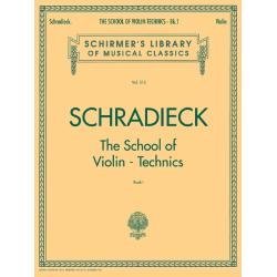 School of Violin Technics - Book 1