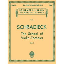 School of Violin Technics - Book 2