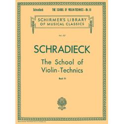 School of Violin Technics - Book 3