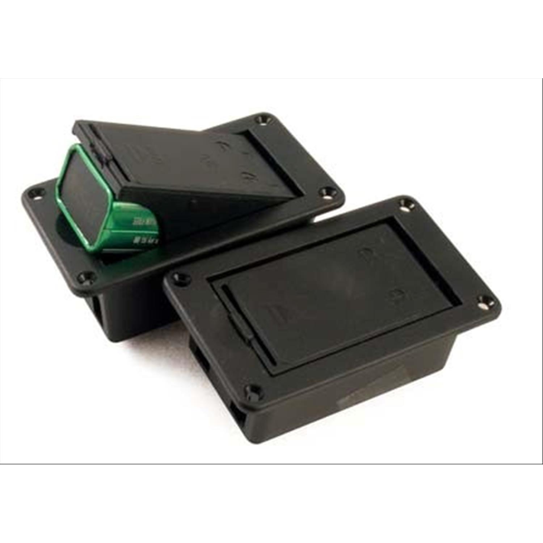 Soho box batteria 9v con viti esterne alloggiamento flat for Porta batteria 9v