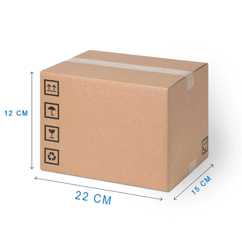 0620750336 Scatola di Cartone per spedizione 22x15x12 cm | Prodotti per ...
