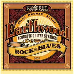 ERNIE BALL Earthwood Rock & Blues Muta Chitarra Acustica .010/.052