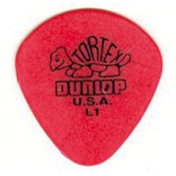 DUNLOP Plettro Tortex Jazz Red L1