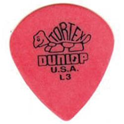 DUNLOP Plettro Tortex Jazz Red L3