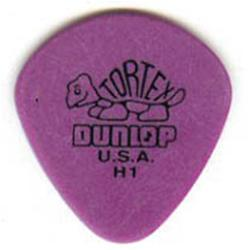 DUNLOP Plettro Tortex Jazz Purple H1