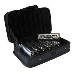 HOHNER Set 7 Armoniche Diatoniche BLUES BAND + Borsa
